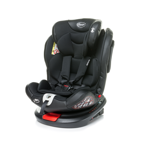 4Baby Roto-Fix Black Child car seat 0-36kg