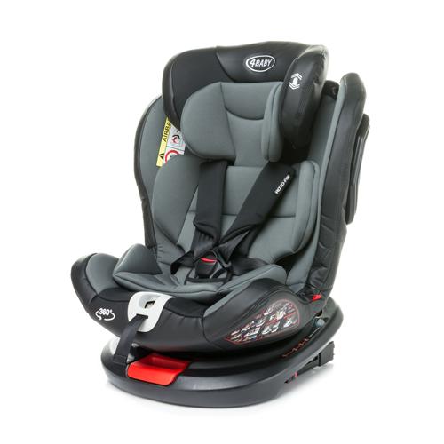 4Baby Roto-Fix Grey Child car seat 0-36kg