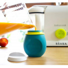 Beaba 912624 Silicone container for water, puree, juices 180ml
