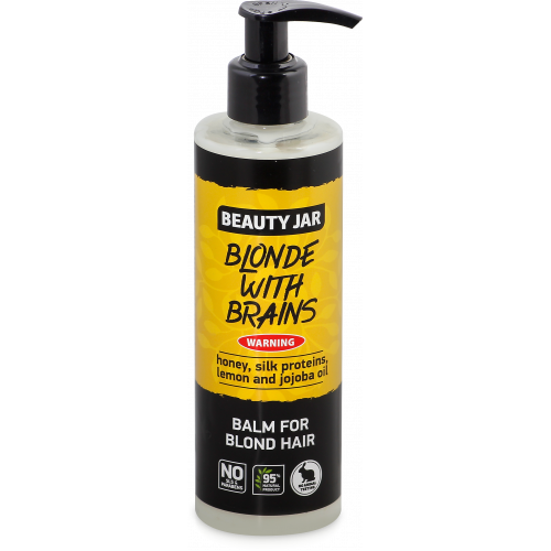 """Beauty Jar """"Blonde with brains'' -balm for blond hair 250ml"""