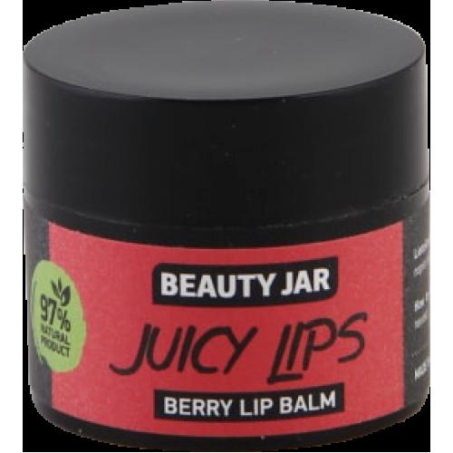 """Beauty Jar ''Juicy lips""""-berry lip balm 15ml"""