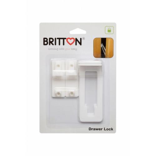 Britton B1807 Cabinet Drawer Lock