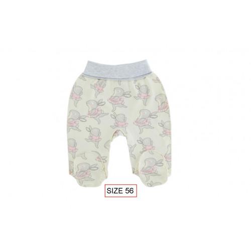Cango Pants with wide waist for newborns BALLERINA size 56, 100% cotton