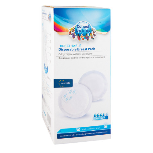 Canpol Babies 1/653 Breast pads 30 pcs.