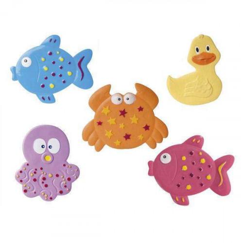 Canpol Babies 80/003 Non-slip mini bath mat 5psc.