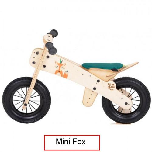 Dip Dap Mini FOX The wooden runbike 2-4 years
