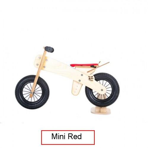 Dip Dap Mini RED The wooden runbike 2-4 years