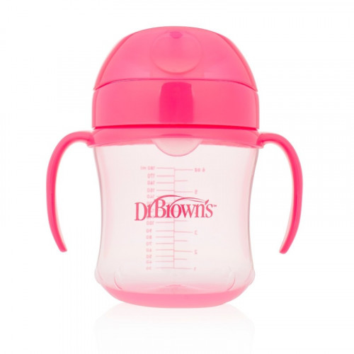 Dr.Browns TC61003 Soft-spout transition cup with handles