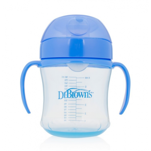 Dr.Browns TC61004 Soft-spout transition cup with handles