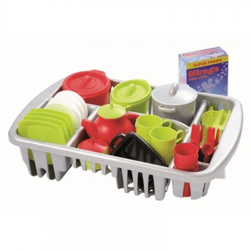 Ecoiffier 8/1210S Cookware set 45 pieces