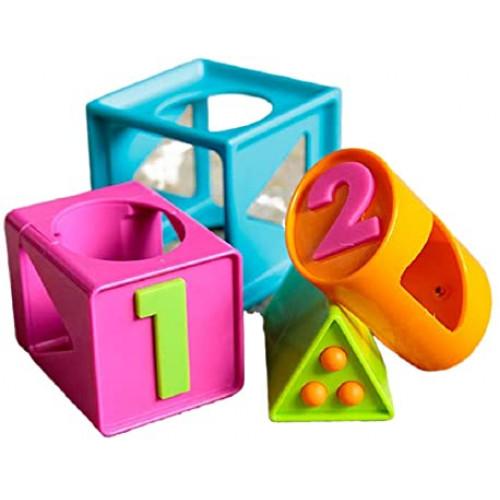 Fat Brain Toys FA179-1 Smarty cube