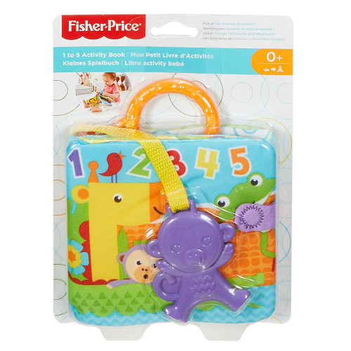 Fisher Price FGJ40 Soft activity book