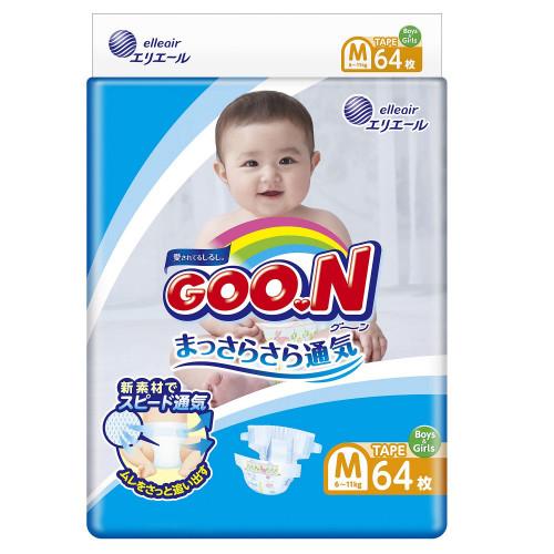 Diapers Goo.N M 6-11kg 64pcs