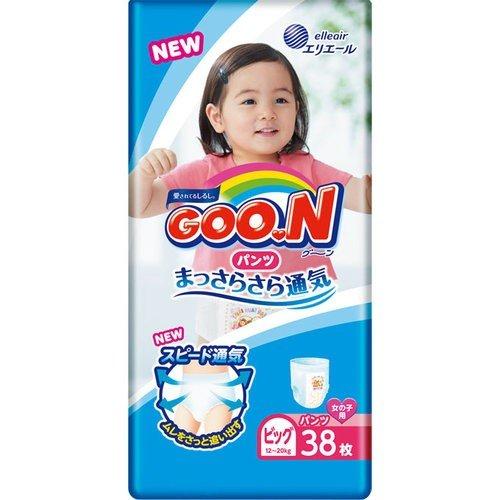 Diapers-panties Goo.N PBL girl 12-20kg 38pcs