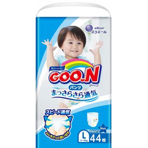 Diapers-panties Goo.N PL boy 9-14kg 44pcs