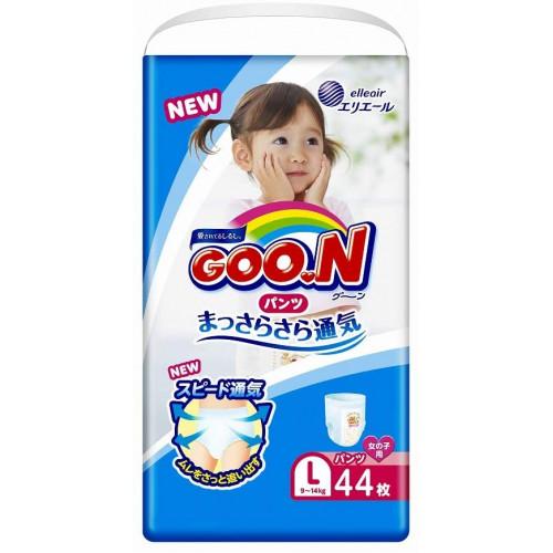 Diapers-panties Goo.N PL girl 9-14kg 44pcs