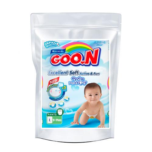 Diapers Goo.N L 9-14kg sample 3pcs