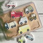 JaBaDaBaDo T261 Puzzle cars