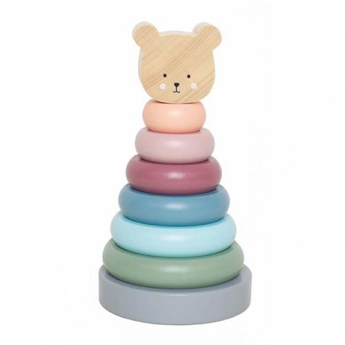 JaBaDaBaDo W7195 Stacking toy teddy