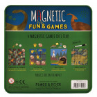 Floss Rock 40P3564 Magnetic game dinosaur 4in1