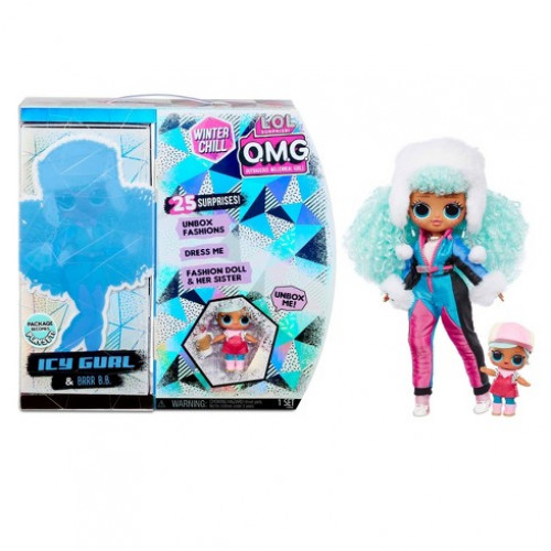 LOL Surprise OMG Winter Chill 570240 Ice Lady