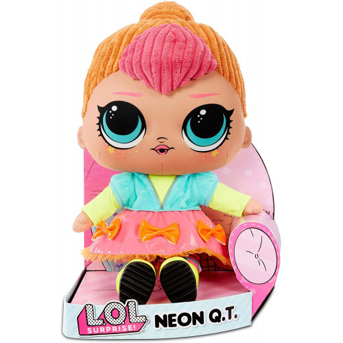 LOL Surprise FL22902 Neon Q.T. Soft plush doll