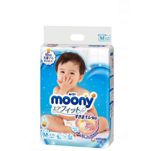 Diapers Moony M 6-11kg 64pсs