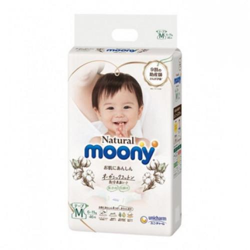Diapers Moony Natural M 6-11kg 46pcs