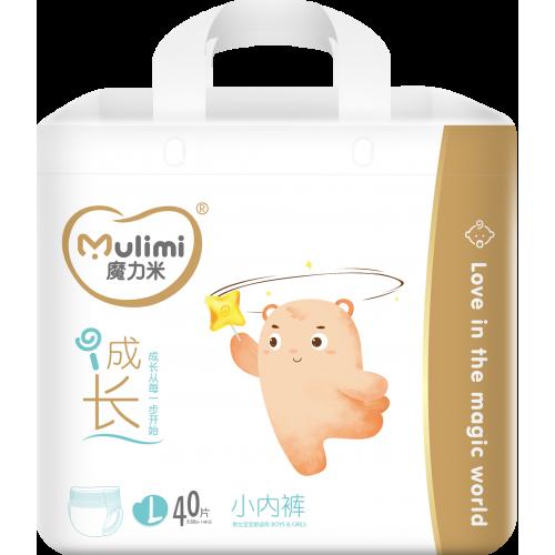 Diapers-panties Mulimi PL 9-14 kg 40pcs
