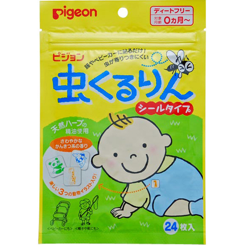 Pigeon mosquito protection stickers 24pcs