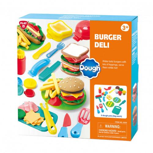 PlayGo 8330 Set of plasticine hamburger