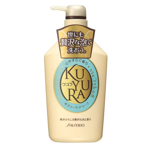 "Shiseido ""Kuyura"" moist body soap with herbal fragrance 550ml"
