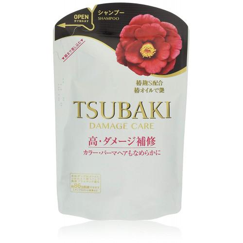 "Shiseido ""Tsubaki Damaged Care"" hair shampoo refill 345ml"