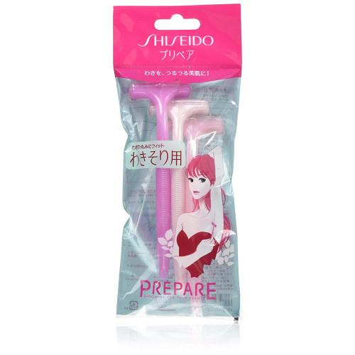 Shiseido prepare razor for underarm 3psc