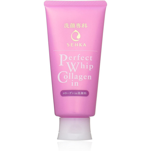 Shiseido Perfect Whip Collagen in facial wash with collagen 120g