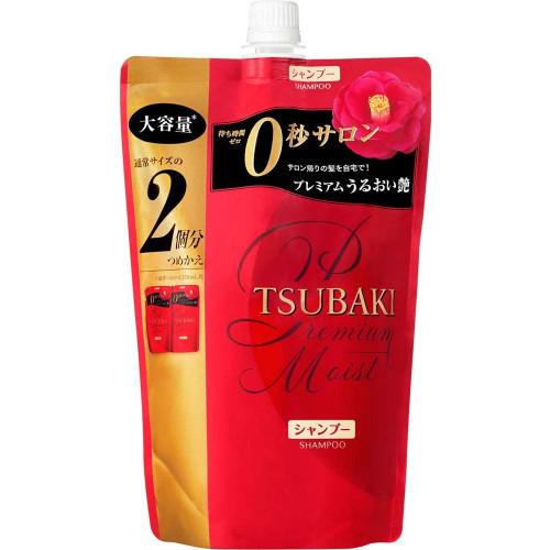 "Shiseido ""Tsubaki Moist"" hair shampoo refill 660ml"