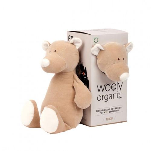 Wooly organic 00101 Soft toy teddy