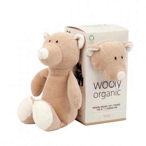 Wooly organic 00102 Small soft toy teddy