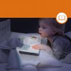 Zazu Fin Portable reading light and nightlight in one