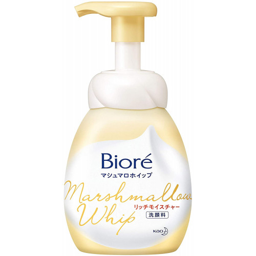Biore Marshmallow rich moisture foaming face wash 150ml