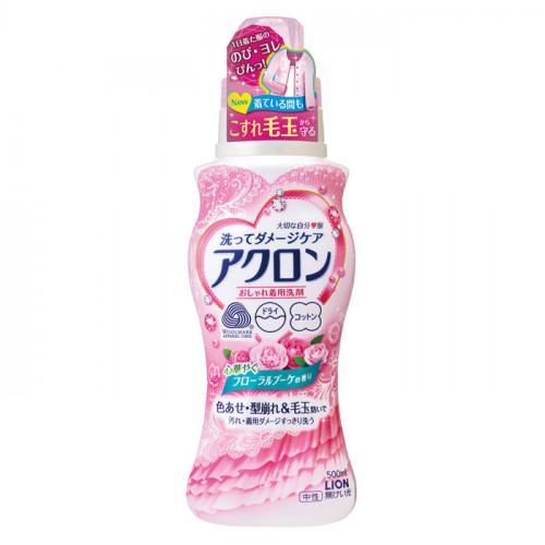 "Lion ""Acron"" liquid laundry detergent with floral fragrance 500ml"