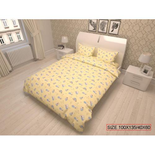 Baby bedding set 2-piece, BEARS 100x135/40x60cm