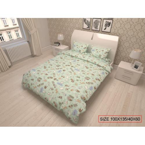 Baby bedding set 2-piece, HAPPY FARM 100x135/40x60cm