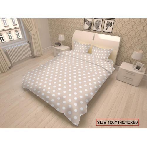 Baby bedding set 2-piece, DOTS 100x140/40x60cm