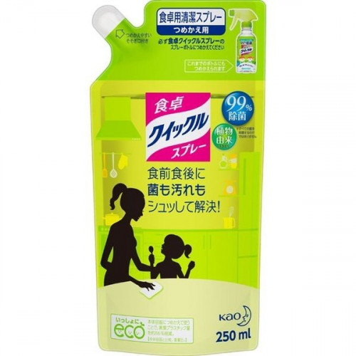 КAO Quick Le universal spray-foam with green tea scent refill 250ml
