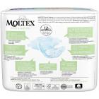 Diapers Moltex Pure & Nature NB 2-4kg 22pcs