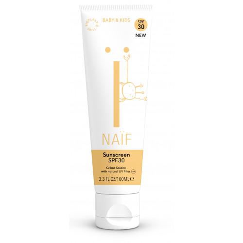Naïf Baby & Kids Care natural sunscreen SPF30 100ml