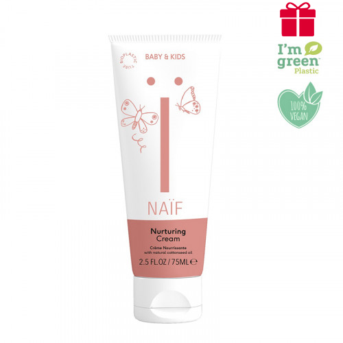 Naïf Baby & Kids nurturing baby cream - oily baby cream for all skin types 75ml