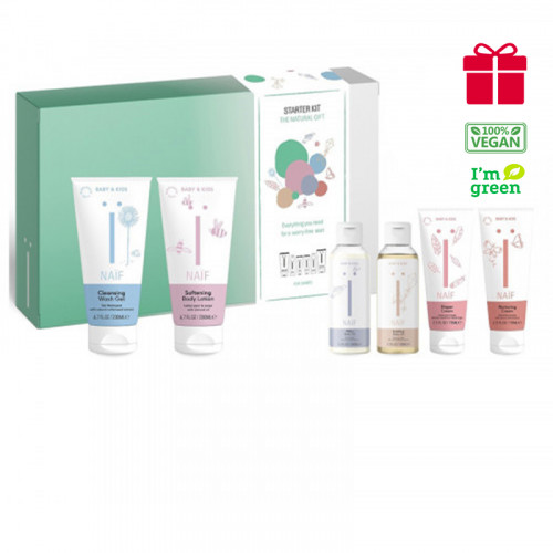 Naïf Baby & Kids The Starter Kit - 6 products for a worry-free start