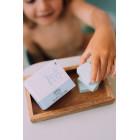 Naïf Baby & Kids splashing bath bombs - bubble bath fizzers 192g/8pcs